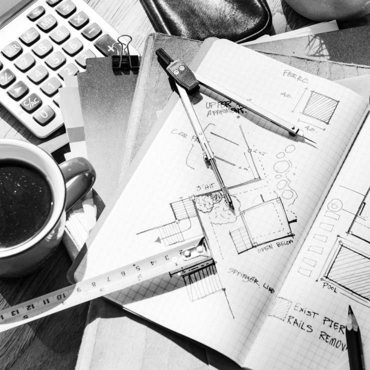 blueprint-architecture-draft-interior-design-P2JBXAQ-740